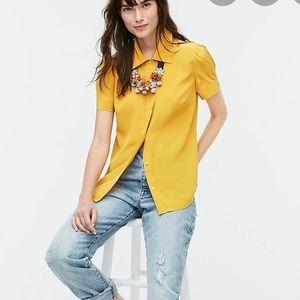 New J Crew Women's Short Sleeve Shirt Size M
